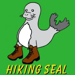 Hiking Seal Square 2